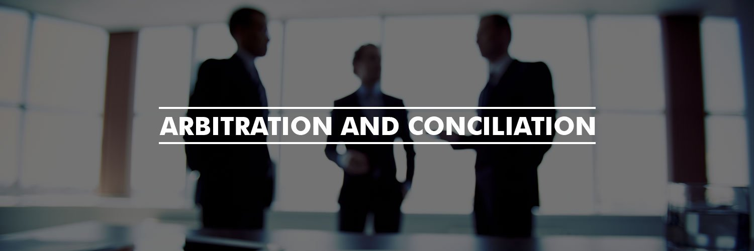 The Arbitration and Conciliation