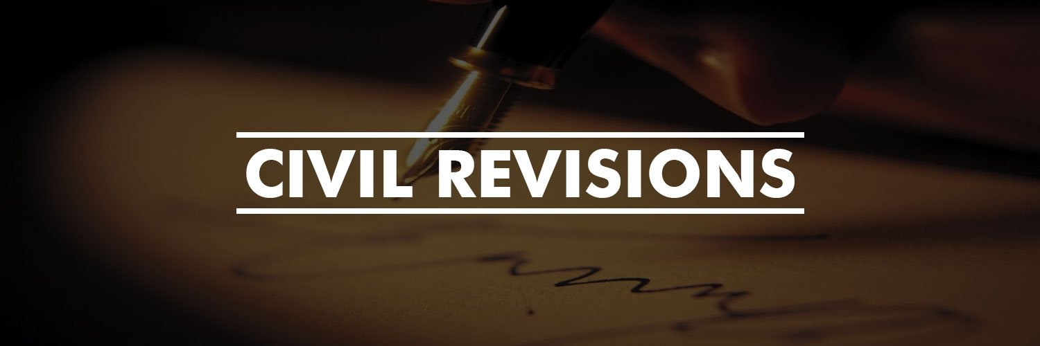 Civil Revisions