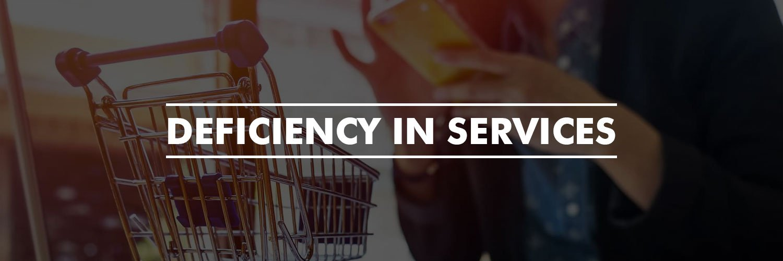 Deficiency In Services
