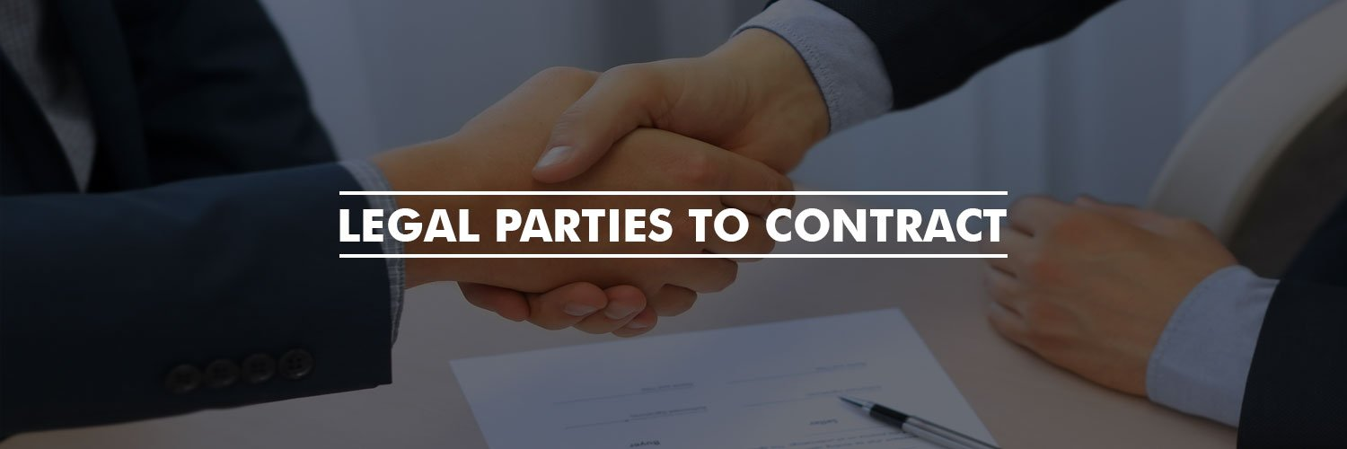 Legal Parties To Contract