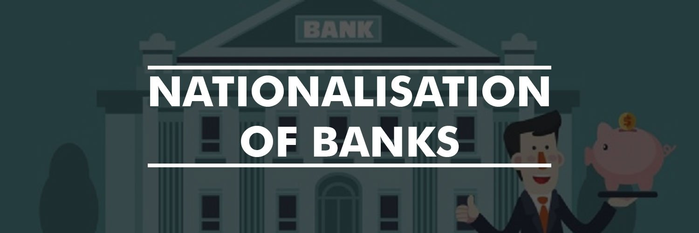 Nationalization Of Banks