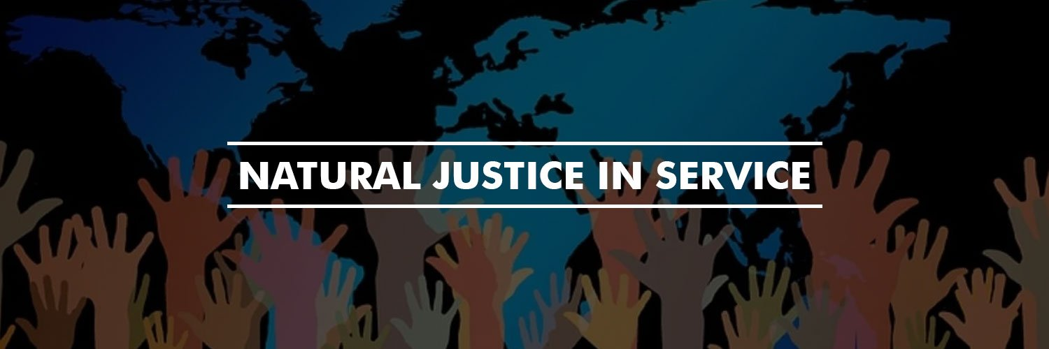 Article on Natural Justice in Service