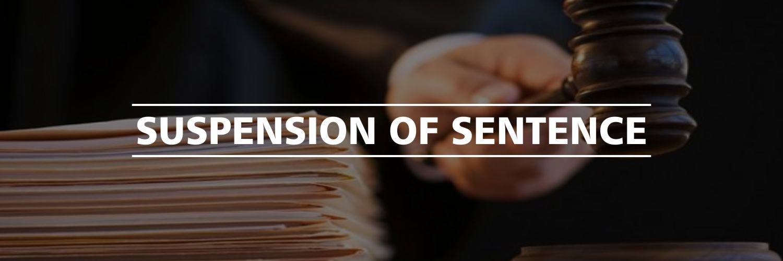 Suspension Of Sentence