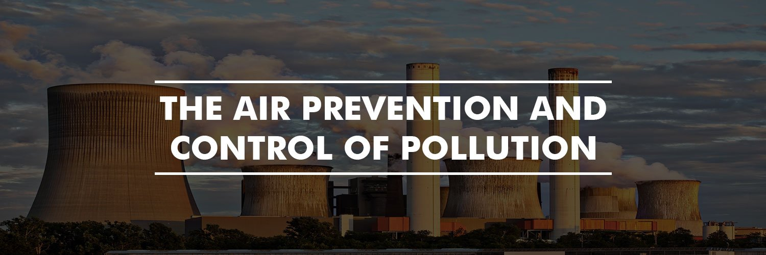 The Air (Prevention and Control of Pollution)