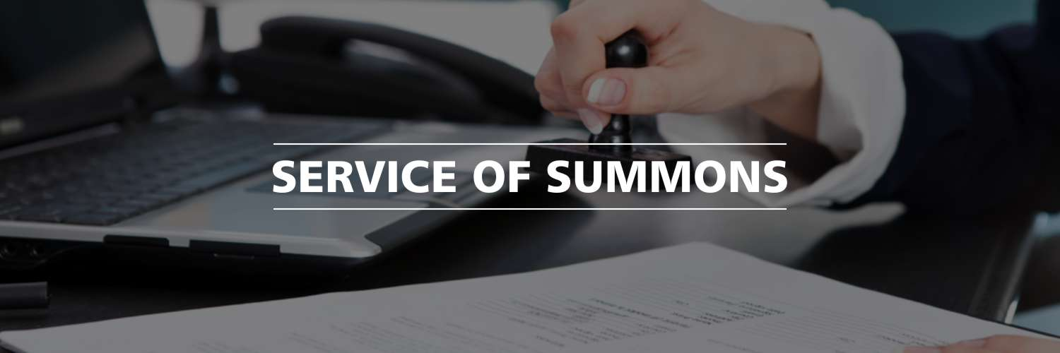 Service of Summons