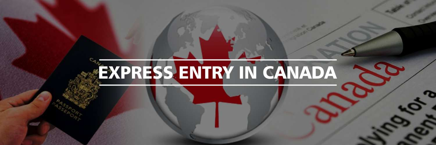 Three most common visas filed for Express Entry in Canada