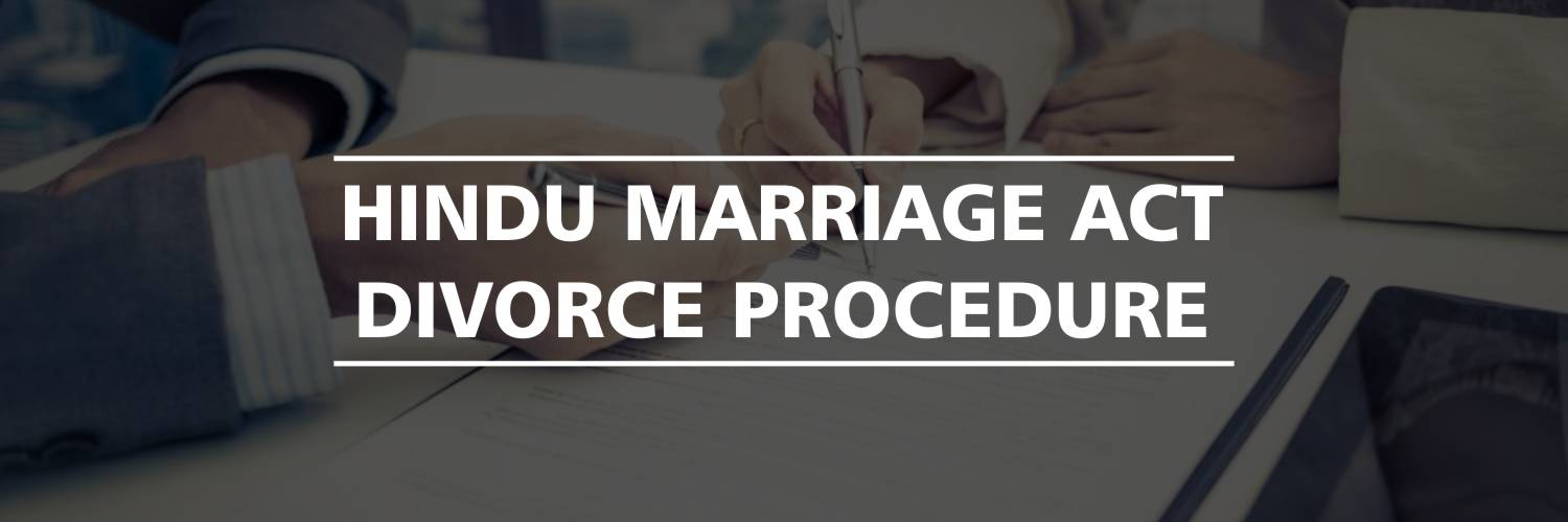 Hindu Marriage Act Divorce Procedure