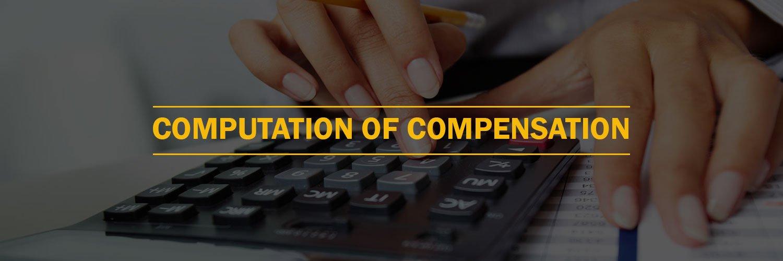 Computation of Compensation