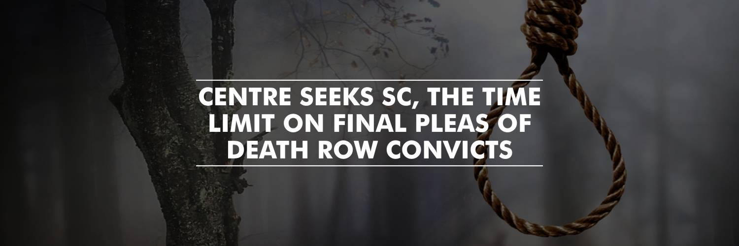 Center Seeks Time Limit on Final Pleas of Death Row Convict