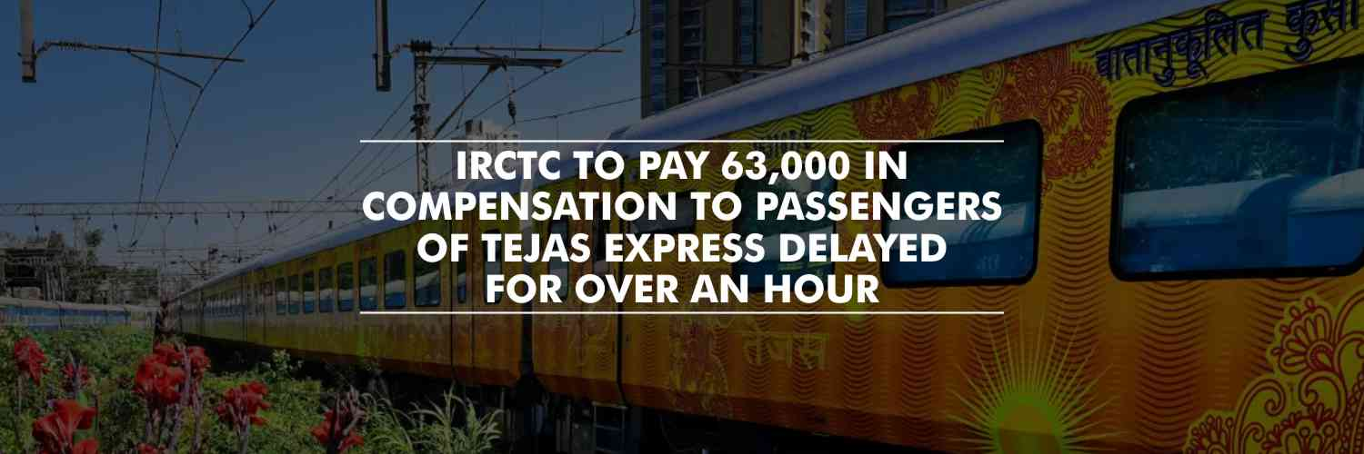 Tejas express delayed by an Hour, Passengers to receive compensation – IRCTC