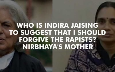 Nirbhaya's mother slams advocate Indira Jaising who asked to forgive the rapists