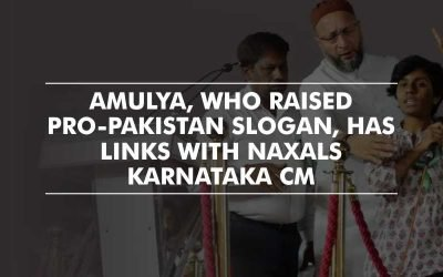 Student who raised pro-Pakistan slogan, has links with Naxals – Karnataka CM