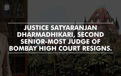 The Second senior-most Bombay High Court Judge resigns