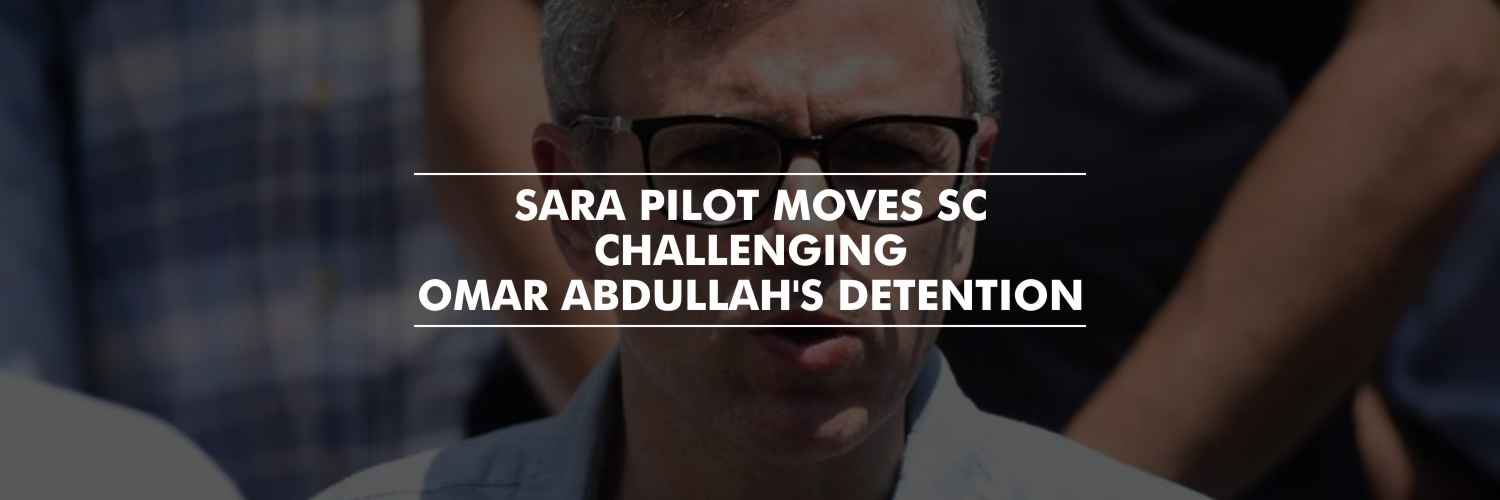 Omar Abdullah's sister moves SC challenging his detention