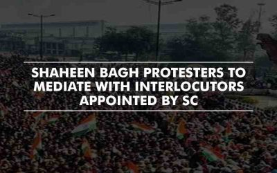 Shaheen Bagh Protesters Delighted with the Appointment of Interlocutors