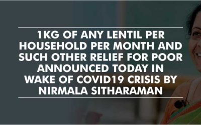 Relief package aimed at shielding the poor during Covid-19 pandemic