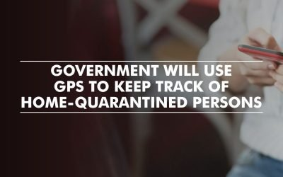 Mobile application to track home-quarantined persons
