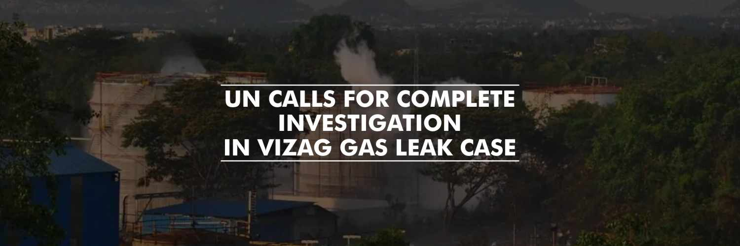 Un Chief Calls For Vizag Chemical Plant Gas Leak To Be 'fully Investigated'