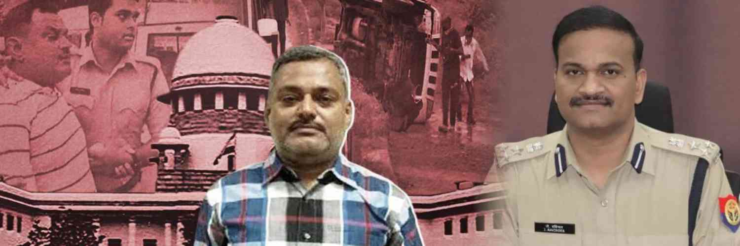 CBI Chargesheeted SIT Officer Probing Vikas Dubey's Encounter