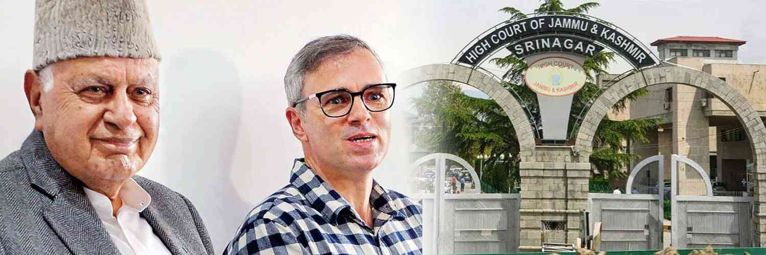 Farooq and Omar Abdullah Moved J&K High Court for 16 NC Leaders Release