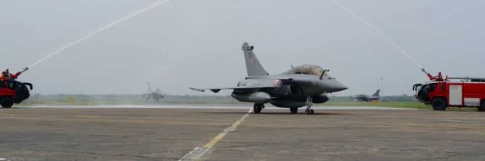 Marking a New Era in Indian Military History, Five Rafale Jets Landed in Ambala Airbase under Prohibitory Orders