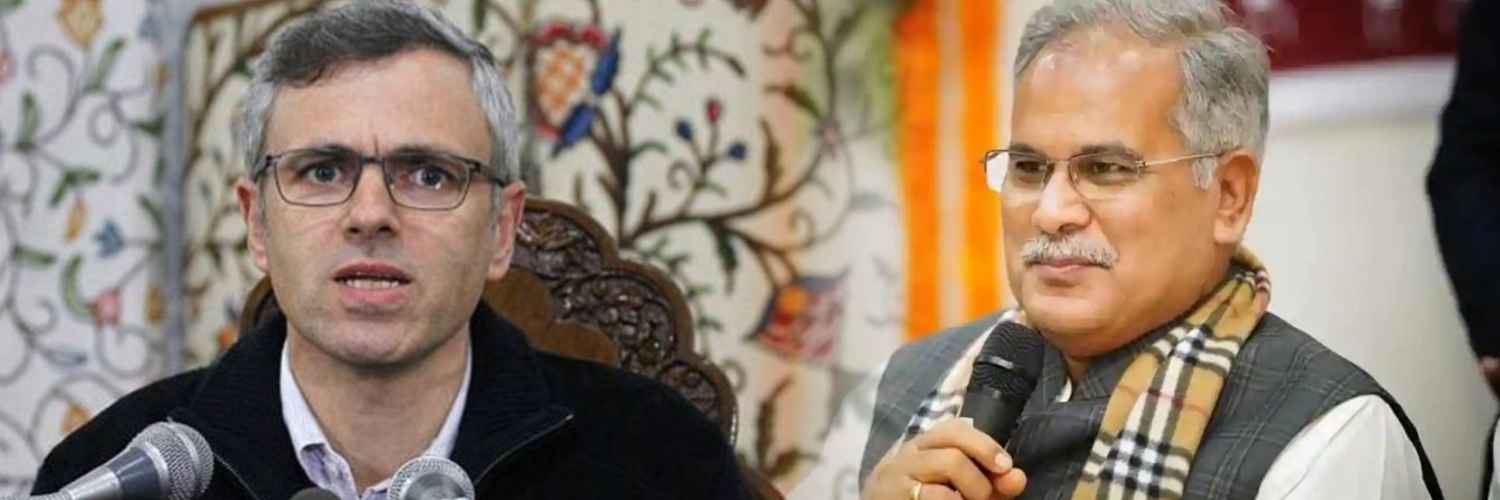 Omar Abdullah Enraged Over the Remarks of Chhattisgarh Chief Minister