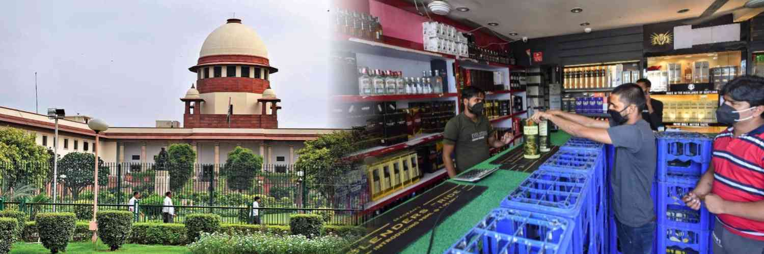 Plea in Supreme Court to Frame Policy Prohibiting Consumption of Liquor