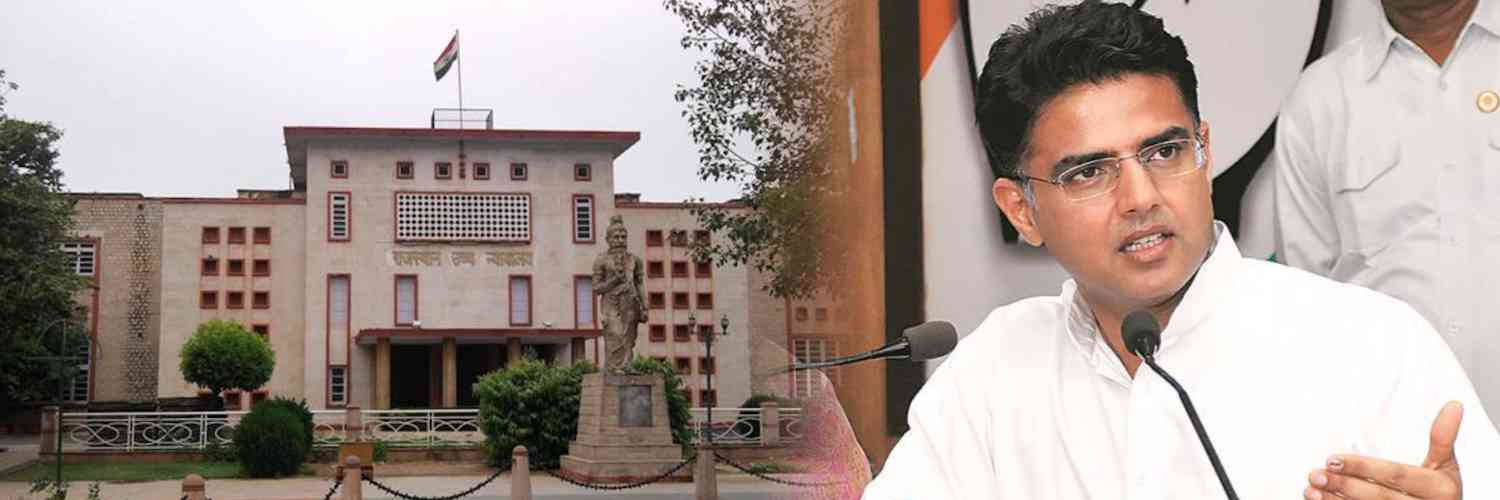 Rajasthan HC Granted More Time to Sachin Pilot to Amend the Petition on Disqualification of MLAs Notice