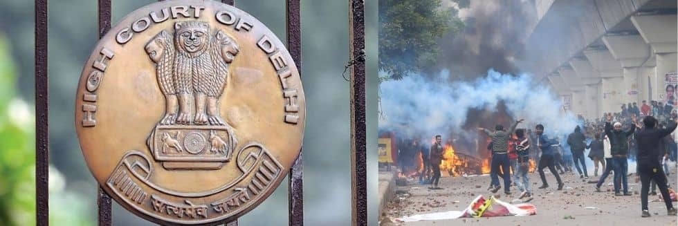 Delhi High Court slams police order on 'Hindu resentment' as mischievous – Delhi Riots