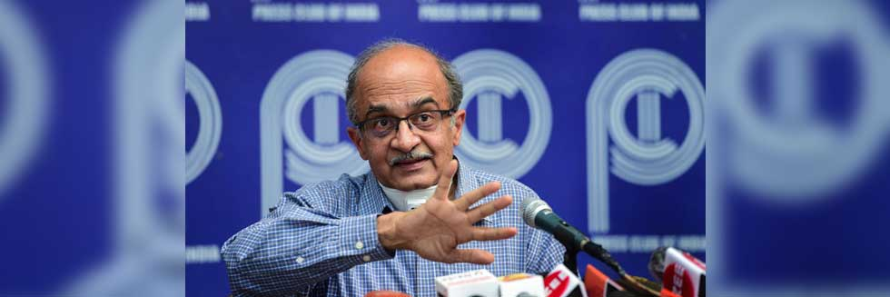 """Payment of Re 1 Fine Doesn't Mean I Have Accepted Verdict""; Prashant Bhushan Files Review Petition Against Conviction of Contempt"