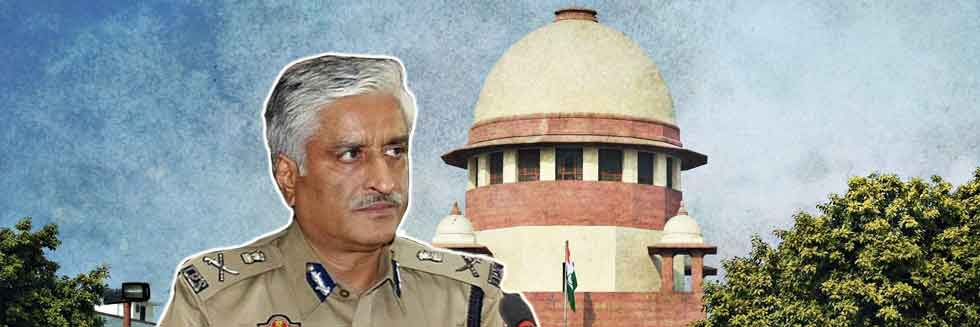 Supreme Court Reserves Order in The Anticipatory Bail Plea of Ex-Punjab DGP, Sumedh Saini