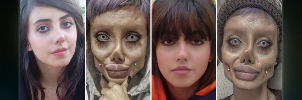 Iranian Teen Sentenced to 10 Years of Imprisonment for Posting Pictures Morphed as Zombie Version of Angeline Jolie