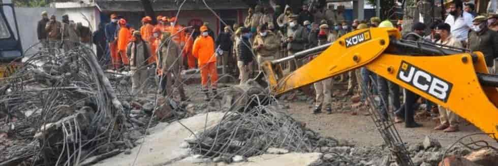Absconding Contractor Ajay Tyagi Arrested in Ghaziabad Crematorium Roof Collapse Case