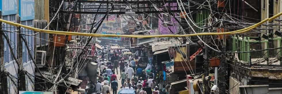 Delhi High Court Directs Agencies to Remove Hanging Wires, Cables in Chandni Chowk