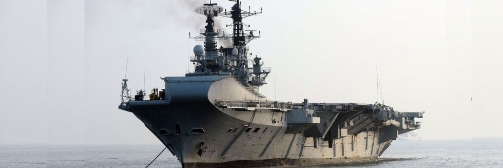 SC Stays Demolition of Aircraft Carrier 'INS Viraat'