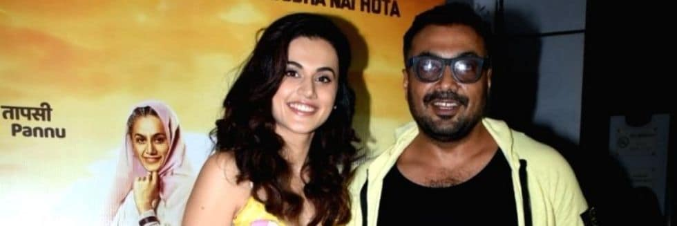 Income Tax Department Raids Properties of Anurag Kashyap, Tapasee Pannu in Connection to Phantom Films
