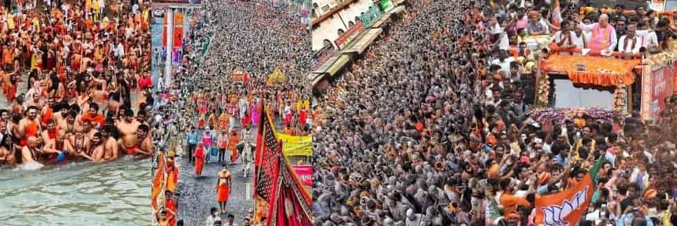 Blatant Violation of COVID SOP in Kumbh Mela and Election Campaigns: Plea in SC to Stop Mass Gatherings