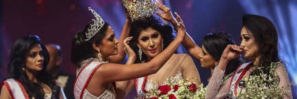"Reigning Mrs. World Caroline Jurie Arrested over Assaulting ""Mrs. Sri Lanka 2020"" On-Stage"