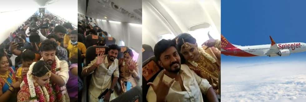 DGCA Derostered SpiceJet Crew over Madurai Couple's Mid Air Marriage, Strict Action Ordered