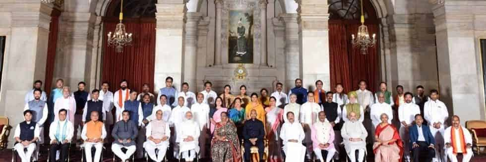 Modi 2.0 Cabinet Reshuffle: 43 Ministers In, 12 Ministers Out