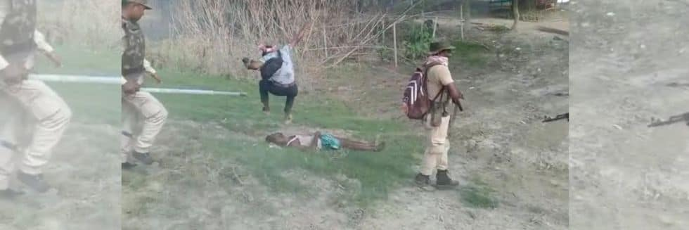 2 Killed, Several Injured in Assam Eviction Drive Violence, Photographer Bijoy Bania Sent To 14 Day Judicial Custody